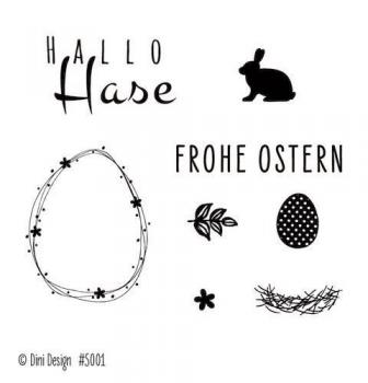 Dini Design - Clearstamps Ostern (DE) #5001