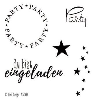 Dini Design - Clearstamps Party (DE) #5009