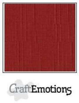 CraftEmotions Cardstock in 12''x12'' - Dunkelrot - LC-39