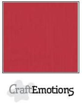 CraftEmotions Cardstock in 12''x12'' - Kirschrot - LC-30