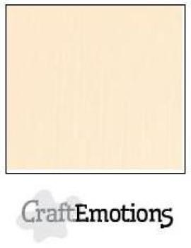 CraftEmotions Cardstock in 12''x12'' - Sand - LC-12