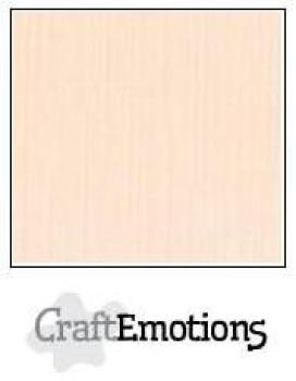 CraftEmotions Cardstock in 12''x12'' - Sahne - LC-17