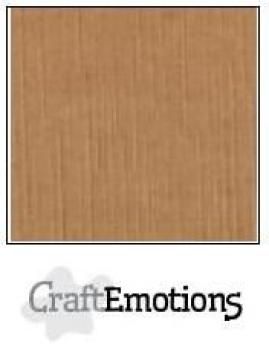CraftEmotions Cardstock in 12''x12'' - Mokka - LC-28