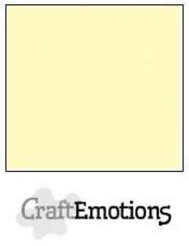 CraftEmotions Cardstock in 12''x12'' - Hellgelb - LC-10
