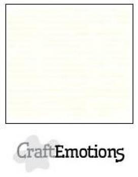 CraftEmotions Cardstock in 12''x12'' - gebrochenes Weiß - LC-04