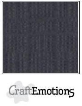 CraftEmotions Cardstock in 12''x12'' - Anthrazit - LC-72