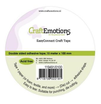 CraftEmotions EasyConnect Craft Tape - 100 mm