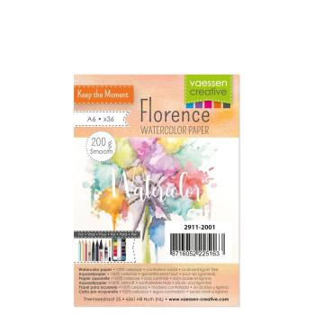 Florence Watercolor Paper A6 Smooth 200g