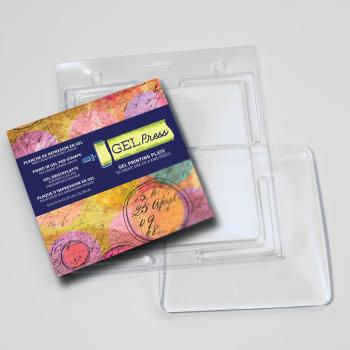Gel Press • Gel Druckplatte 15,24 x 15,24 cm