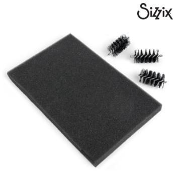 Sizzix Replacement Die Brush Heads & Foam Pad
