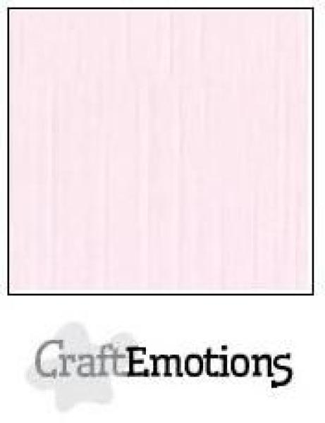CraftEmotions Cardstock in 12''x12'' - Baby Rosa - LC-18