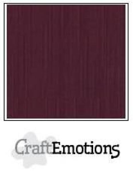 CraftEmotions Cardstock in 12''x12'' - Burgund - LC-67