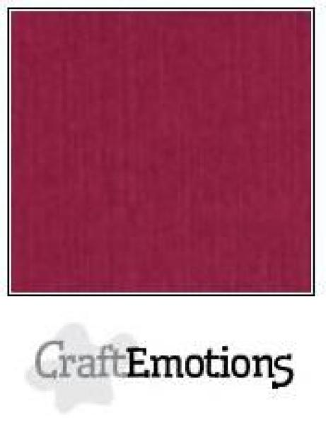 CraftEmotions Cardstock in 12''x12'' - Bordeaux - LC-25