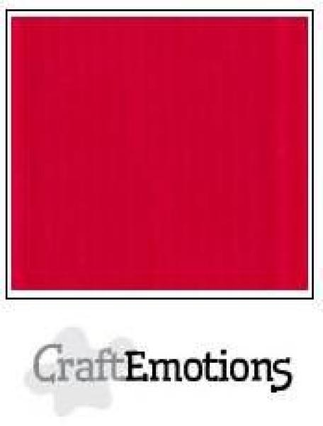 CraftEmotions Cardstock in 12''x12'' - Scharlach - LC-66
