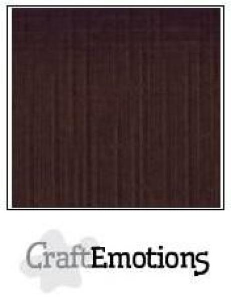CraftEmotions Cardstock in 12''x12'' - Schokolade - LC-79