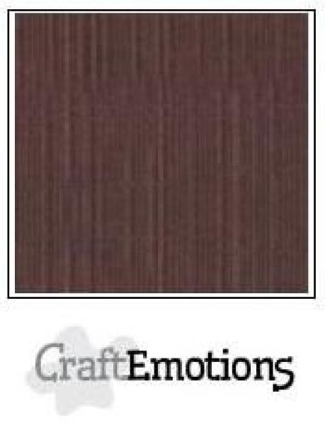 CraftEmotions Cardstock in 12''x12'' - Kaffee - LC-75