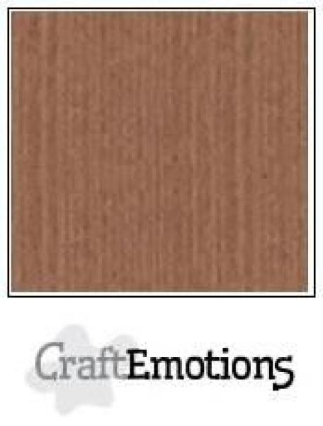 CraftEmotions Cardstock in 12''x12'' - Terra Braun - LC-76