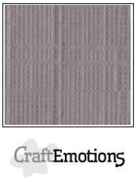 CraftEmotions Cardstock in 12''x12'' - Silber - LC-73