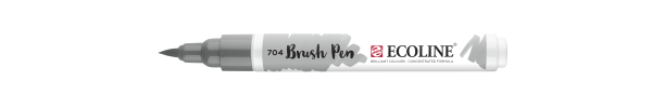 Brush Pen - Grau 704