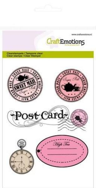 CraftEmotions - Briefmarken & Etiketten