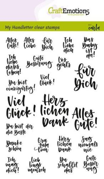 CraftEmotions - Handletter - Quotes - Zitate1
