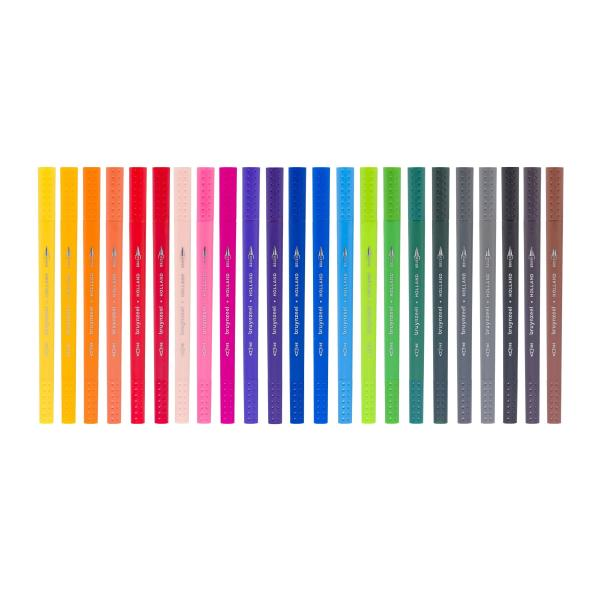 Brush Pen Set - 24 Farben