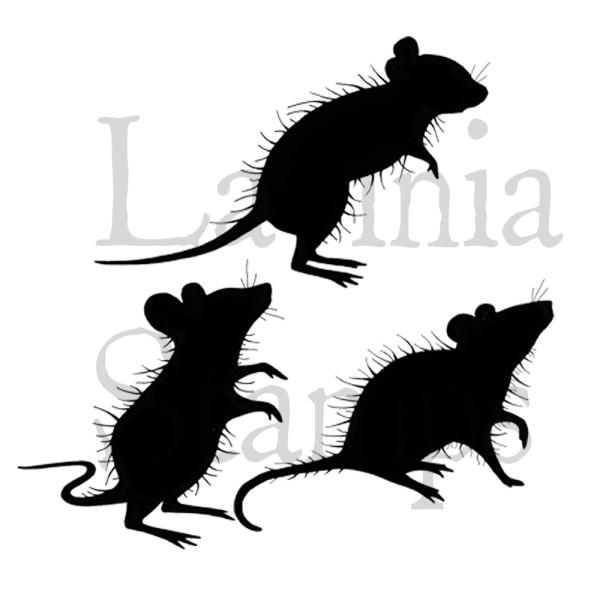 Lavinia Stamps - Three Woodland Mice