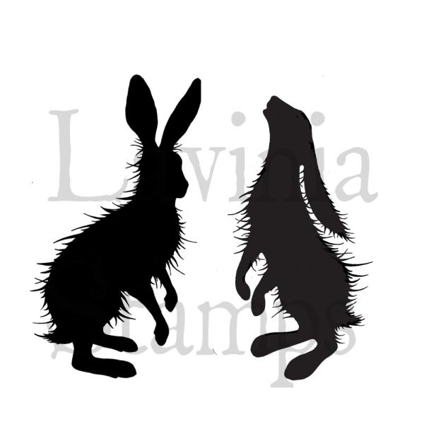 Lavinia Stamps - Woodland Hares