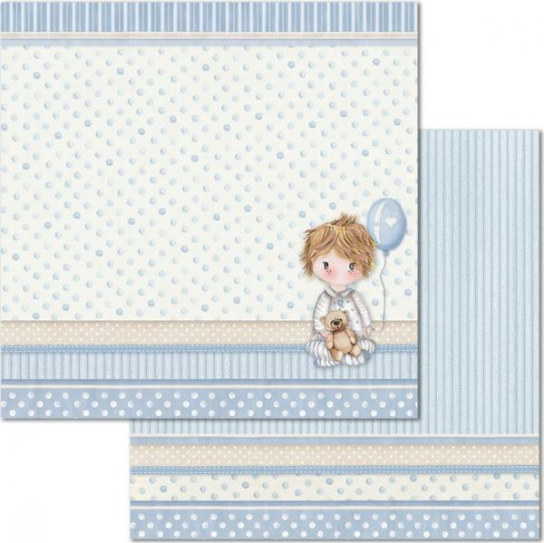 Stamperia Designpapierblock - Little Boy 12'' x 12''