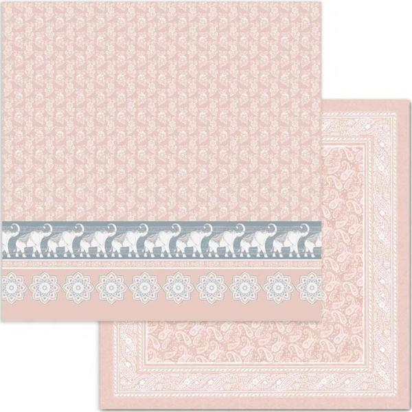 Stamperia Designpapierblock - 26 Secrets of India 12'' x 12''