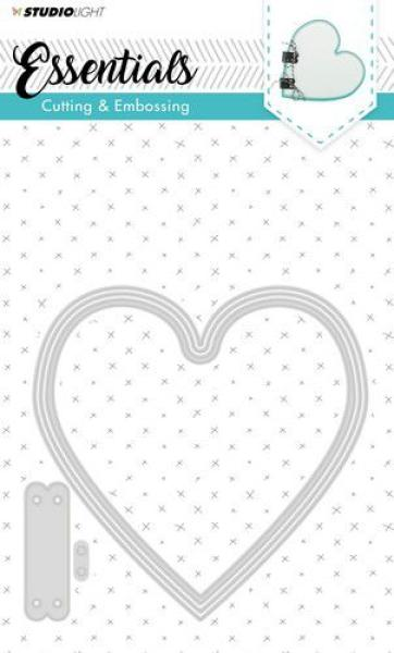 Studio Light Embossing Die Cut - Stencil Essentials Nr.166
