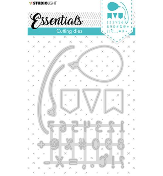 Studio Light Embossing Die Cut Stencil Essentials Nr. 358