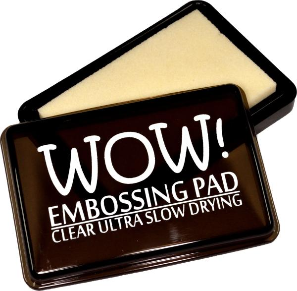 WOW! CLEAR ULTRA SLOW DRYING EMBOSSING PAD