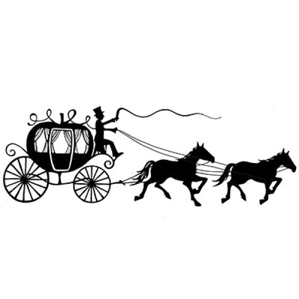 Lavinia Stamps - Horse and Carriage
