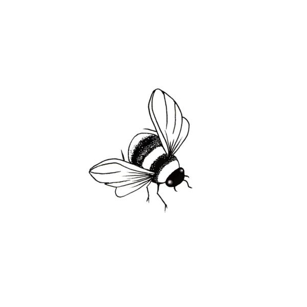 Lavinia Stamps - Bee Miniature